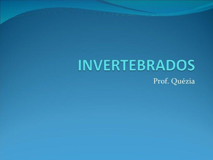 Prof. Quézia