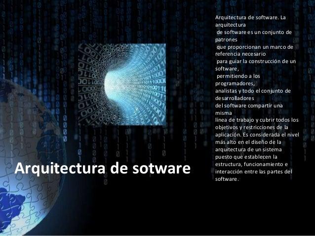 Arquitectura hardware y software generacion de computadores for Software para arquitectura