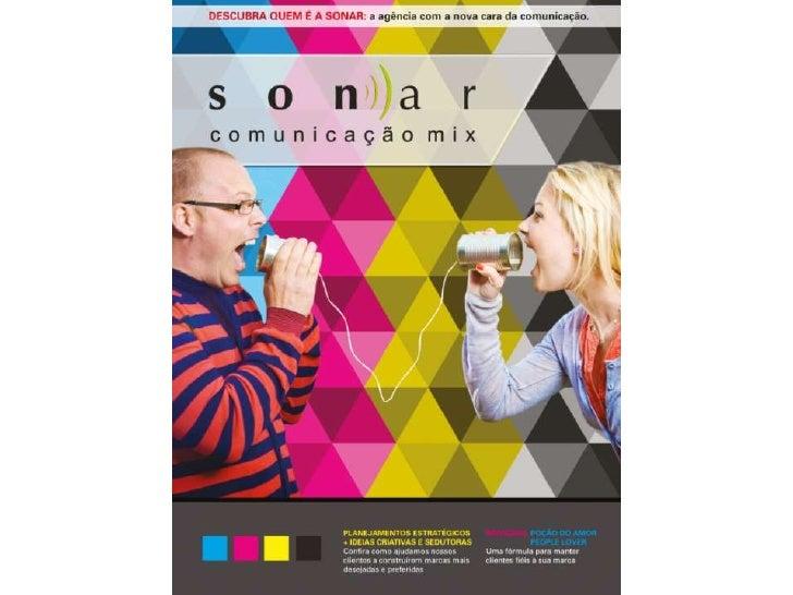 Sonar Comunicação Mix - Porfolio