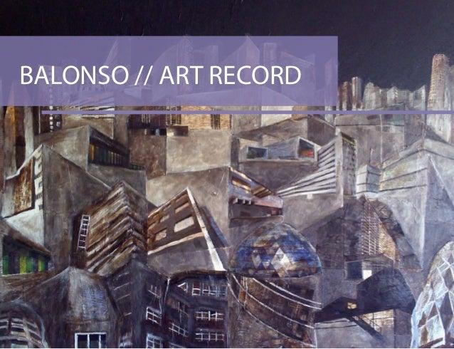 BALONSO // ART RECORD