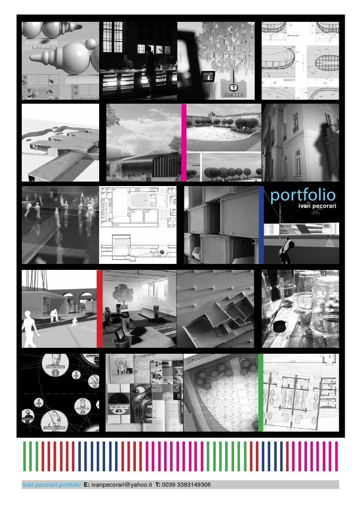 portfolio                                                                         ivan pecorariivan pecorari portfolio E: ...