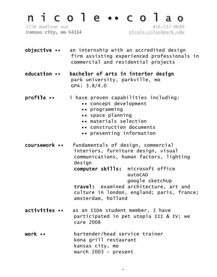 Interior Design Career Job Description