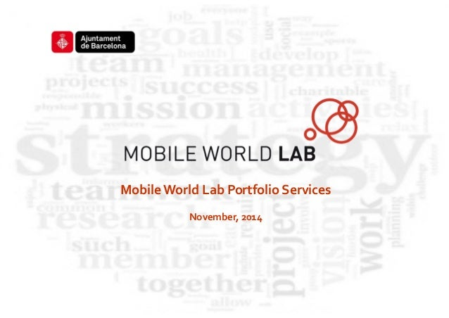 Porfolio services mw lab barkeno advisors