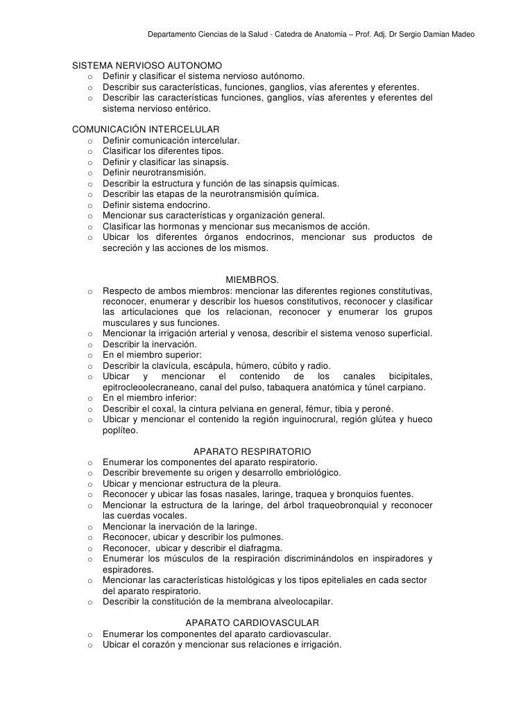 Porgrama anatomia nutricion 2012