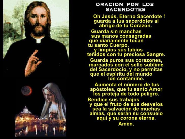 Resultado de imagen para Oración por los sacerdotes
