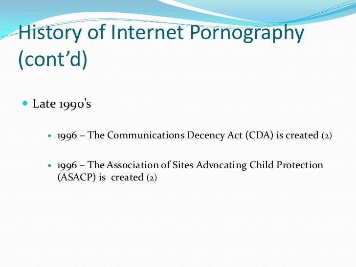 Some recent statistics about internet pornography