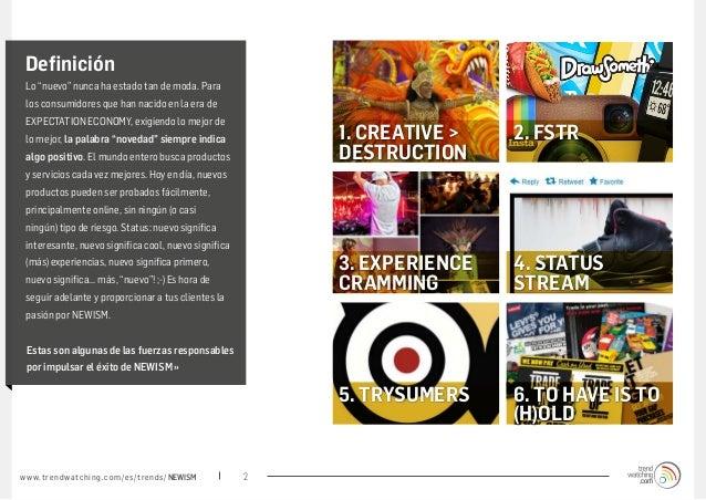 Porqué consumidores desean lomás nuevo... Slide 2