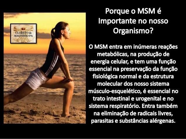 Os Benefícios do MSM – Enxofre orgânico, em cãibras e Dor muscular