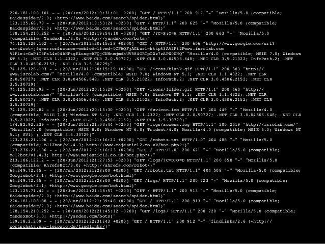 #!/bin/bash [~/Apache] $ wc -l access.log 65063 access.log