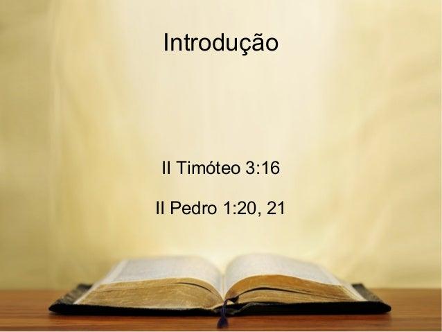 Por que creio na Bíblia Slide 2