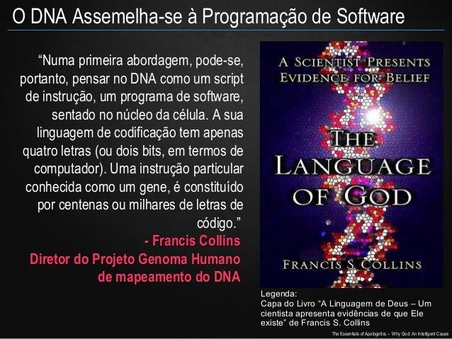 """O DNA Assemelha-se à Programação de Software """"Numa primeira abordagem, pode-se, portanto, pensar no DNA como um script de ..."""