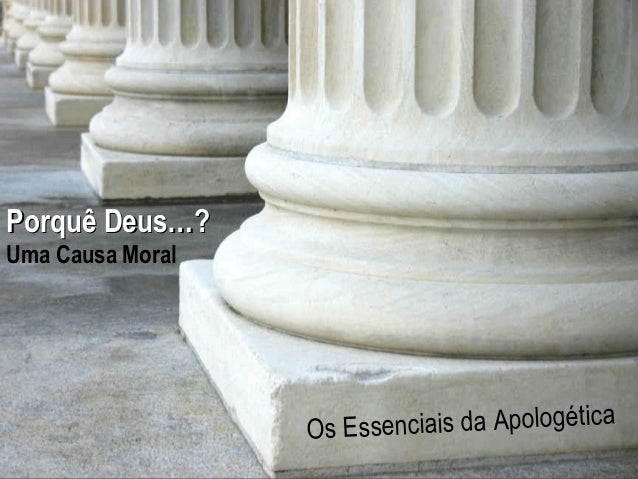 Hope For The  Porquê Deus…?  Hurting  Uma Causa Moral  A Study in 1 Peter enciais da Apologética Os Ess www.confidentchris...