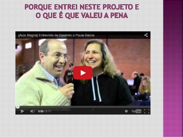 Nesta entrevista feita na última Aula Magna da Universidade da Tribo, o meu amigo Casimiro perguntou-me porque é que entre...