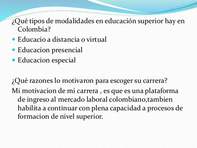 Por que es importante estudiar for Oficina virtual educacion