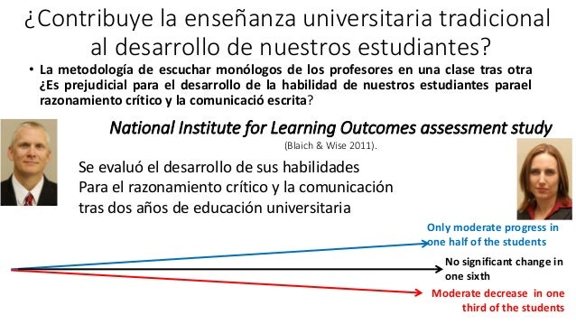 ¿Contribuye la enseñanza universitaria tradicional al desarrollo de nuestros estudiantes? • La metodología de escuchar mon...