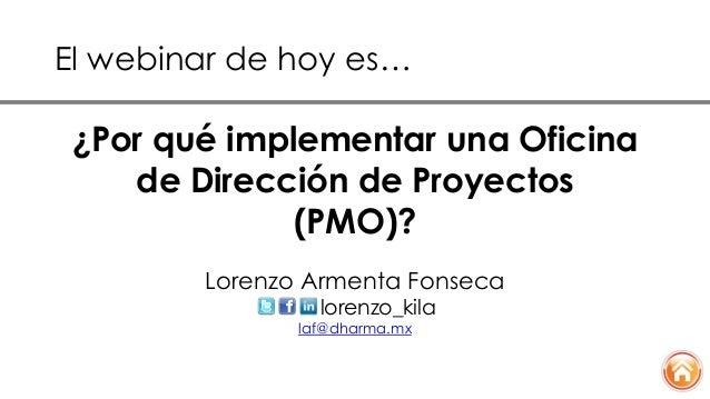 Por qu implementar una oficina de direcci n de proyectos for Direccion de la oficina