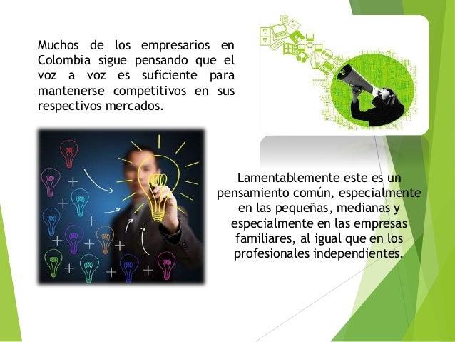 Porque las empresas en Colombia no son exitosas Slide 3