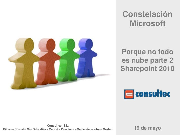 Constelación MicrosoftPorque no todo es nube parte 2Sharepoint2010<br />19 de mayo<br />