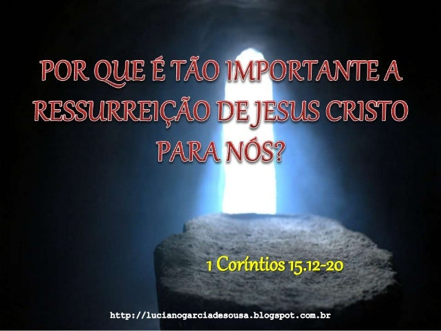 1 Coríntios 15.12-20