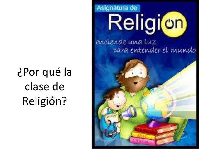 Dibujos Clase De Religion: Por Qué La Clase De Religión
