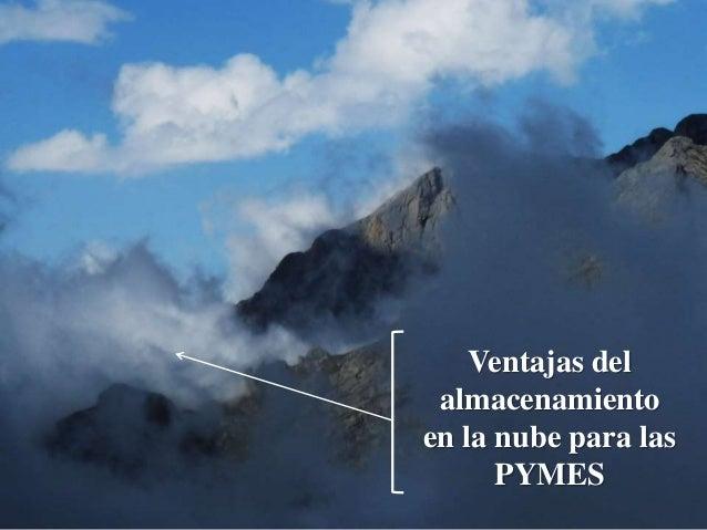 Ventajas del almacenamiento en la nube para las PYMES
