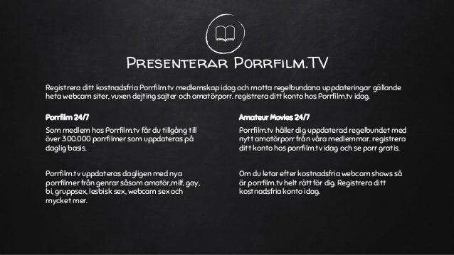 Gratis Porr Film TV