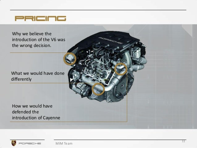 porsche cayenne case study essay Essay on porsche case porsche: the cayenne launch executive summary • the strategic opportunity is to increase our market share.