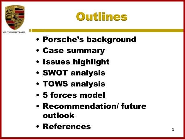 porsche case study analysis
