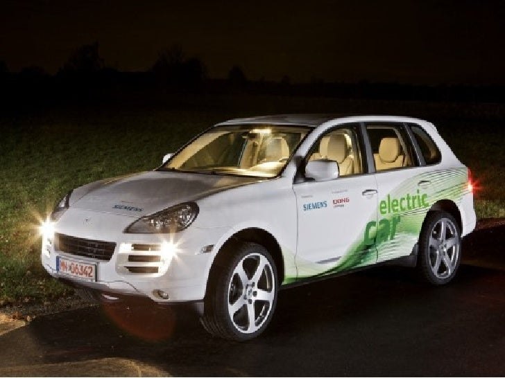 Porsche Cayenne Electric