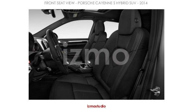 FRONT SEAT VIEW - PORSCHE CAYENNE S HYBRID SUV - 2014  izmostudio