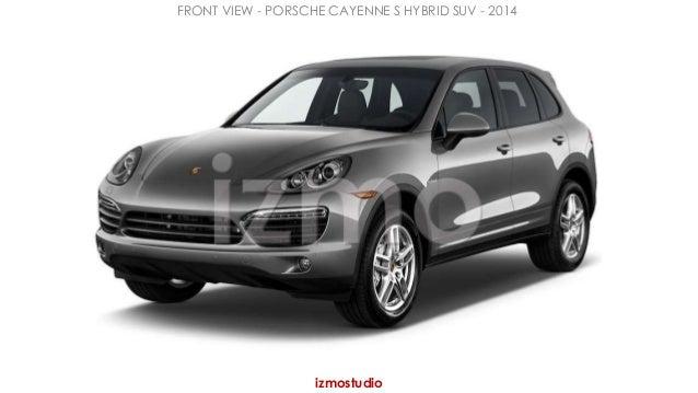 FRONT VIEW - PORSCHE CAYENNE S HYBRID SUV - 2014  izmostudio