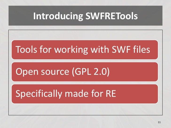 Resultado de imagen de SWFRETools