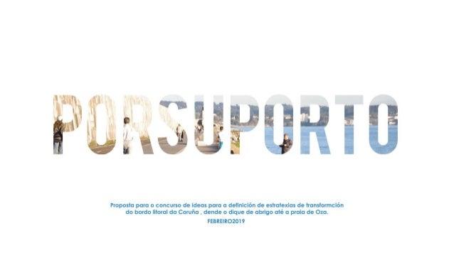 PORSUPORTO (Imaxes da presentación do 01-03-2018 en Tribuna Pública)