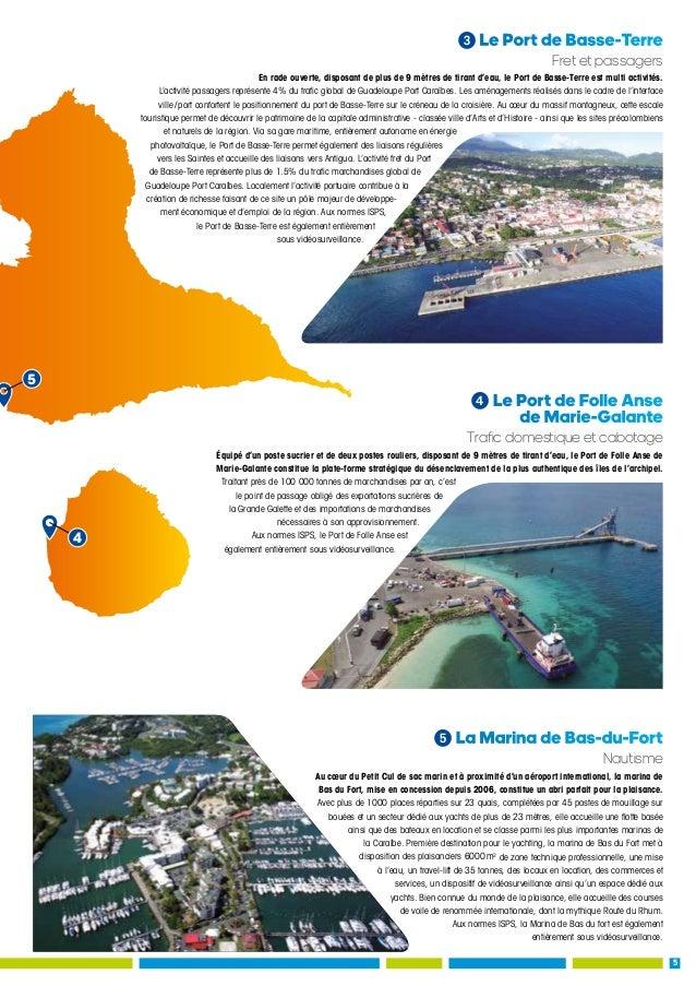 Guadeloupe port cara bes rapport d 39 activit 2016 - Pole emploi port louis guadeloupe ...