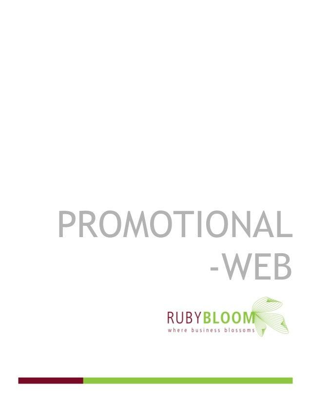 PROMOTIONAL -WEB