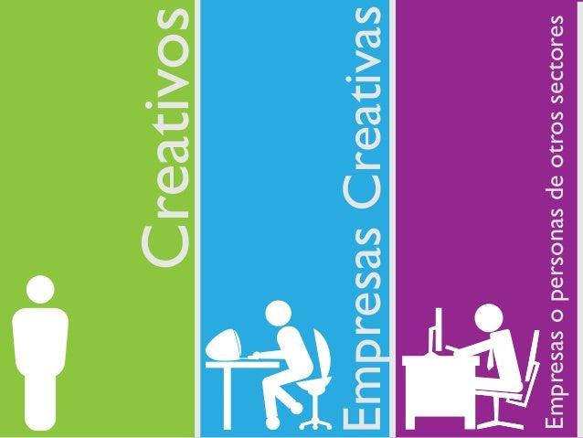 CreativosEmpresas CreativasEmpresas o personas de otros sectores
