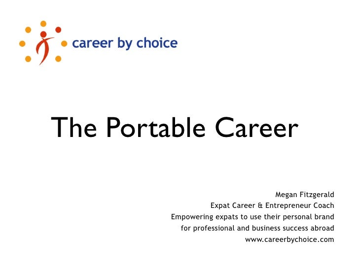 The Portable Career                                        Megan Fitzgerald                     Expat Career & Entrepreneu...