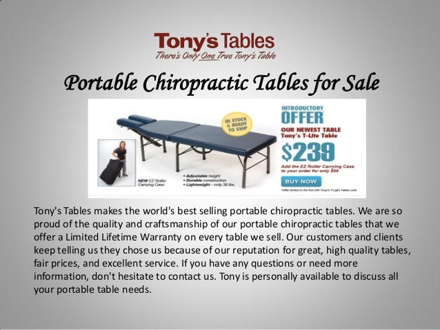 Incredible Portable Chiropractic Tables For Sale Unemploymentrelief Wooden Chair Designs For Living Room Unemploymentrelieforg