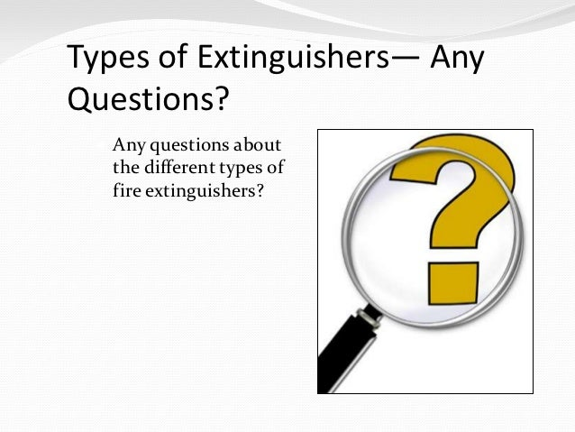 Portable Fire Extinguishers Home Safety