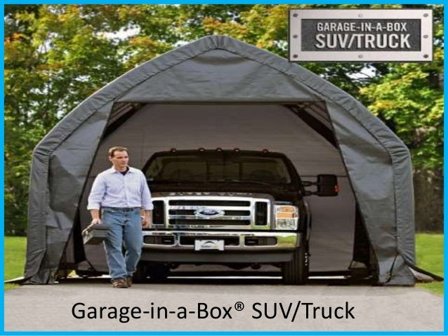 Garage-in-a-Box® SUV/Truck ... & Buy Portable Garage Tents at Best Price