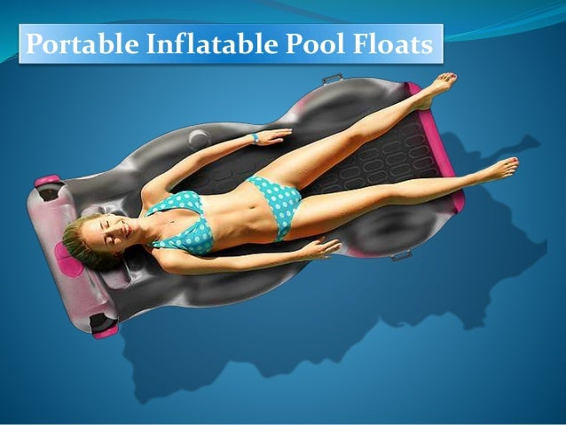 Portable Inflatable Pool Floats