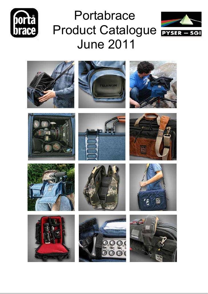 PortabraceProduct Catalogue    June 2011