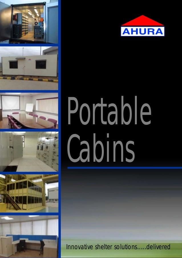 Innovative shelter solutions.....deliveredPortableCabins