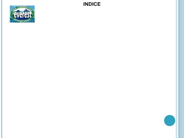 <ul><li>INDICE </li></ul>