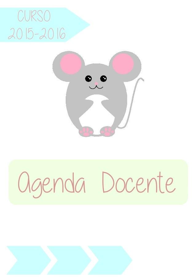 CURSO Agenda Docente 2015-2016