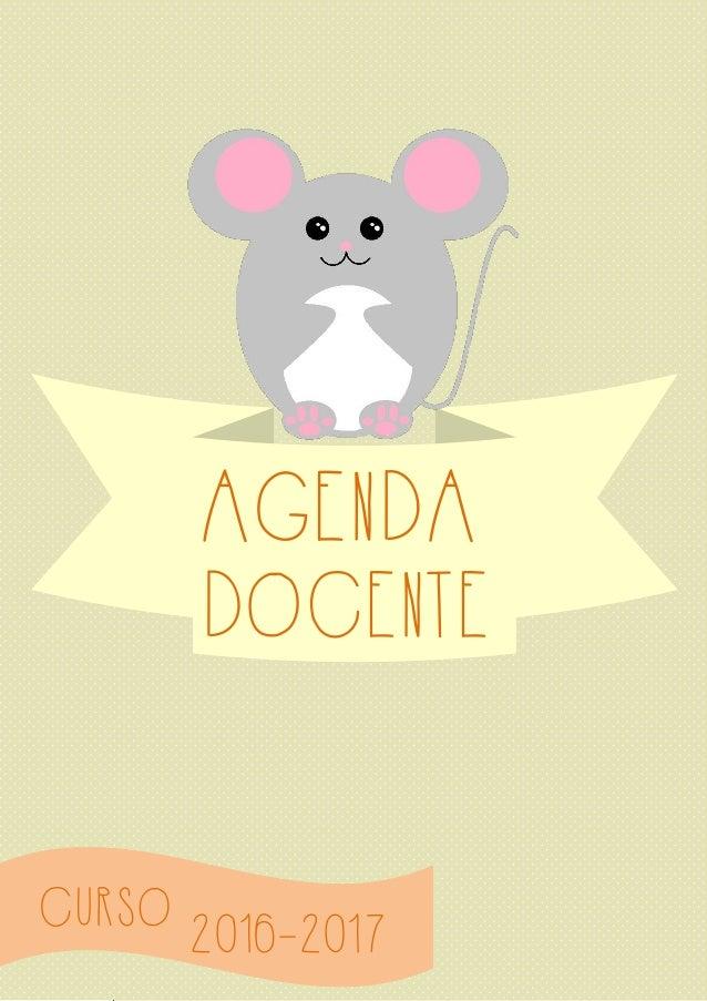 CURSO AGENDA 2016-2017 DOCENTE