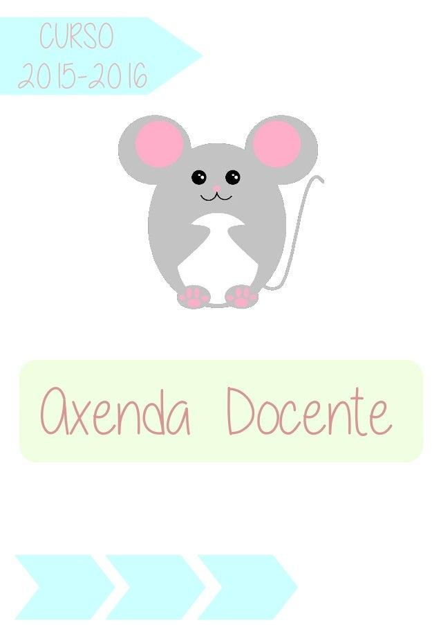 CURSO Axenda Docente 2015-2016