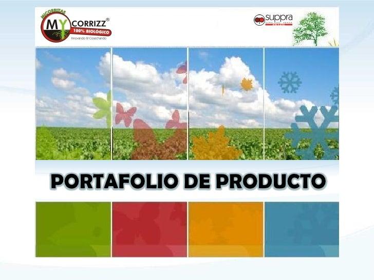 PORTAFOLIO DE PRODUCTO