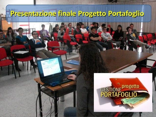 Presentazione finale Progetto PortafoglioPresentazione finale Progetto Portafoglio