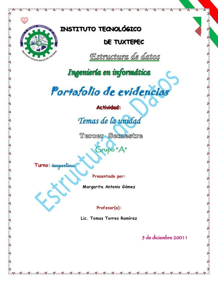 INSTITUTO TECNOLÓGICO            INSTITUTO TECNOLÓGICO                                        1                           ...